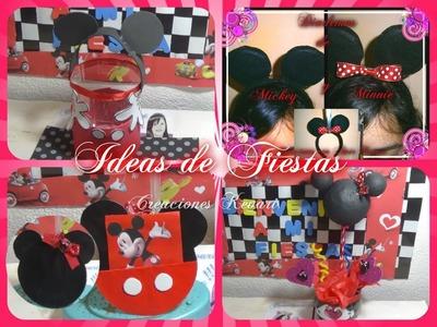 Ideas para Fiesta de Mickey y Minnie