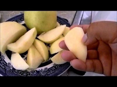 Licuado de manzana y avena (energetizante)