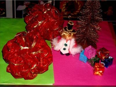 Moños para regalos paso a paso