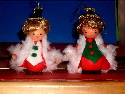 Muñeco colgante para árbol navideño
