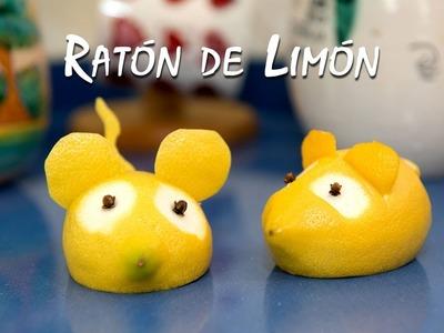 Raton de Limon para Decoracion de Mesa