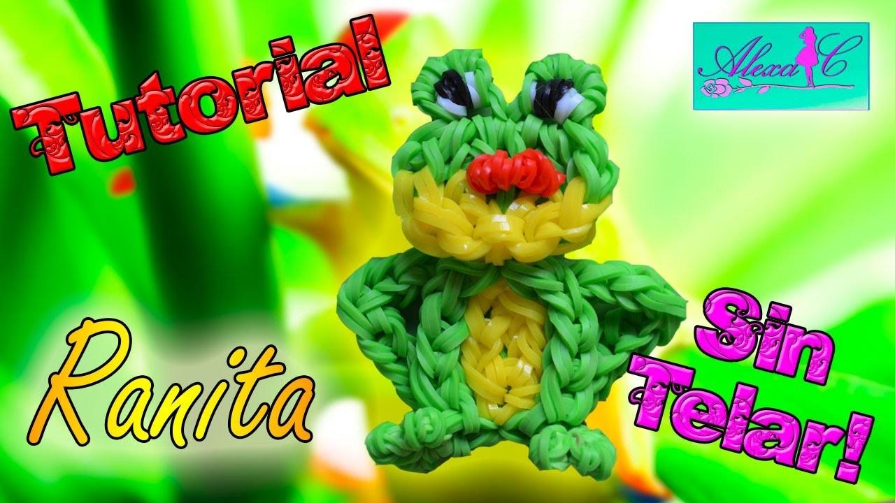 ♥ Tutorial: Ranita de gomitas (sin telar) ♥