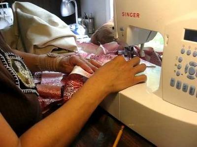 Tutotial de como hacer costura sesgada o en BIAS