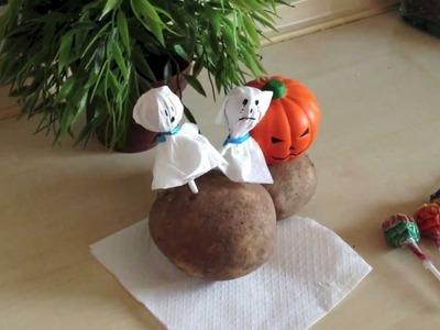 Cómo hacer fantasmas de Halloween | facilisimo.com