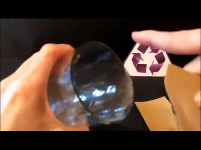 Cómo hacer floreros con botellas de vidrio