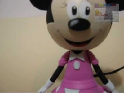 COMO HACER fOFUCHA MINNIE MOUSE EN FOAMY PARTE FINAL 3 DE 3