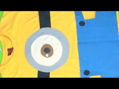 Cómo hacer una camiseta de Los Minions paso a paso
