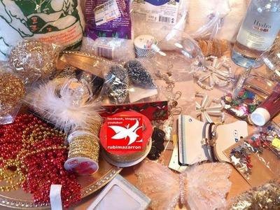 Compras de navidad y manualidades