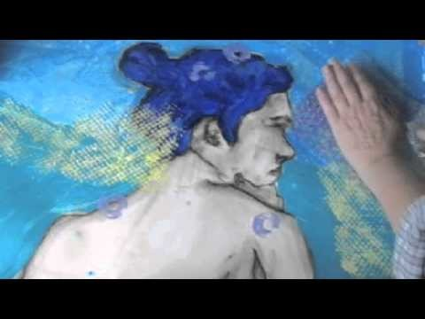 Creativity and Self Expression with acrylics-Texturas con acrílicos parte 1 de 3