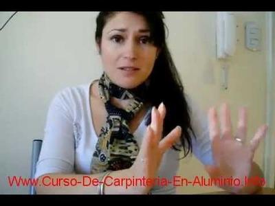 Curso De Carpinteria En Aluminio Aprende Como Hacer Puertas Y Ventanas De Aluminio