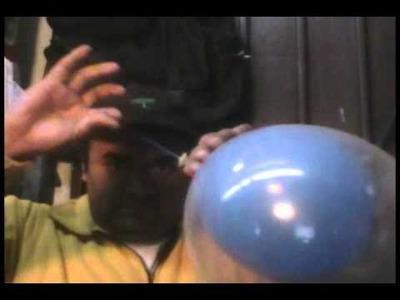 Curso decoracion con globo (uno dentro de otro)