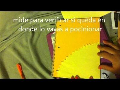 Decorando tus Cuadernos :D