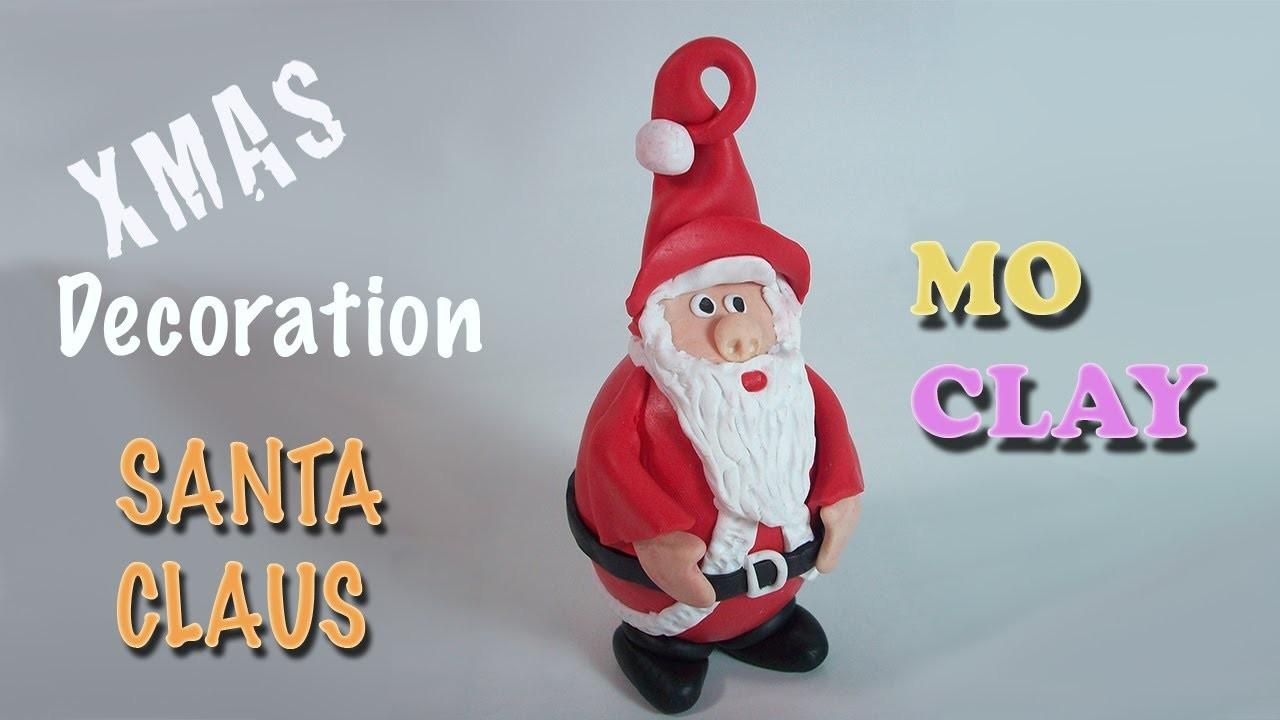 DIY Christmas ornaments: Santa Claus - Decoración para Navidad - Decorazione per Natale