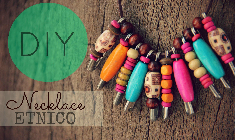 DIY Collar Étnico Necklace