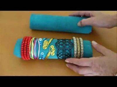 DIY: Como hacer expositor - organizador de brazaletes y pulseras