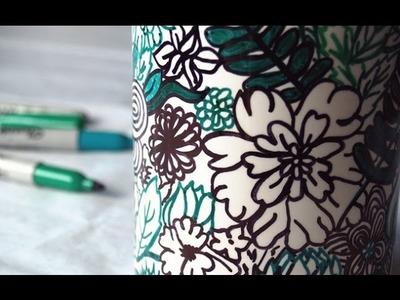 DIY: Cómo pintar tazas y objetos de porcelana