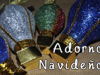 DIY. HTM Navidad: Como hacer adorno navideño reciclando bombillas [Globos aeroestáticos]