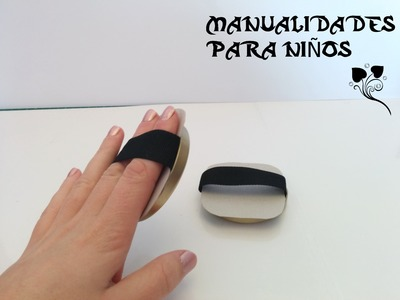 DIY, Mini platillos, instrumento musical para niños, manualidades.