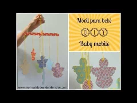 DIY: móvil para bebé. Baby mobile