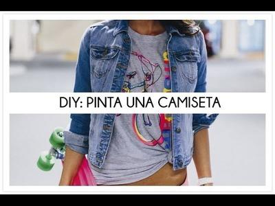DIY Pinta una camiseta