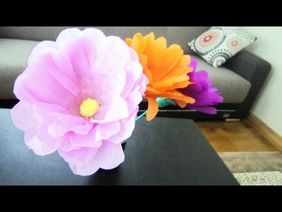 Episodio 674 - Cómo hacer flores gigantes con botellas  plasticas (con o sin tallo)