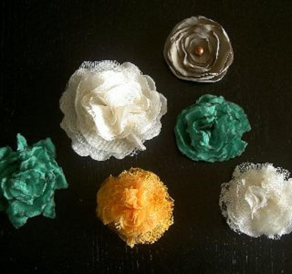 Flores de liston dobladocomo hacer miles de flores VOL.3