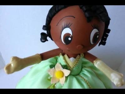 Fofucha tiana. , la princesa y el sapo