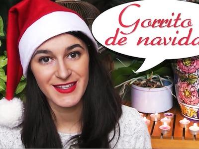 Gorrito de Navidad (versión mejorada). Manualidades de Navidad