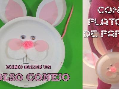 Manualidades para niños | Bolsito en forma de conejo