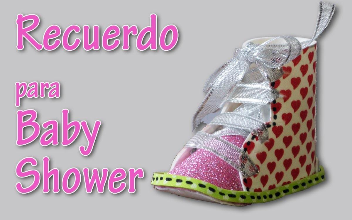 Manualidades: Recuerdo para baby shower - Manualidades para todos