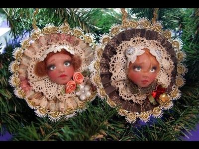 Navidad Adornos victorianos Paso a Paso