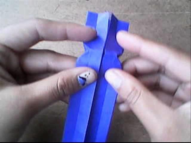 Origami :separador de corazon (facil)