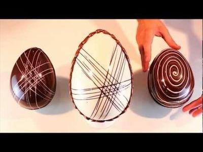 Paso a Paso huevo de Pascua rayado - Carat Coverlux (3 de 4 en 2013)