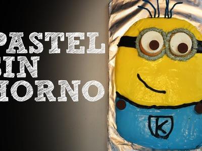 Pastel de cumpleaños SIN HORNO | Receta de pastel de chocolate casero | Recetas fáciles
