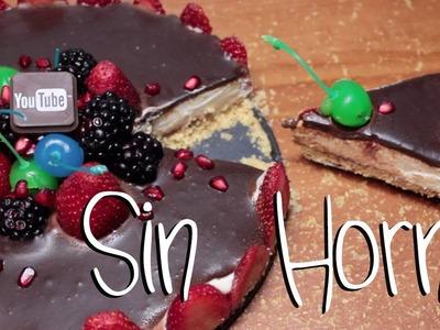 ➪ Pay de Chocolate ★ SIN HORNO ♡ (FÁCIL!) - Miranda Ibañez