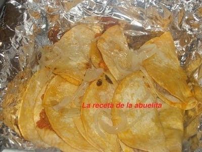 Receta de tacos de canasta preparacion de los tacos parte 2 de 2 - La receta de la abuelita