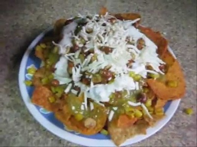 RECETA FACIL: Tosti chilaquiles en salsa verde