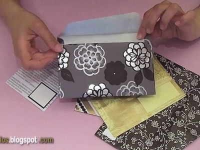 Sobres a Medida - DIY - Tailor-Made Envelope