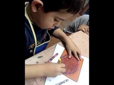 Tecnica de pintura  para niños 1