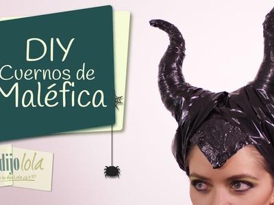 Tutorial Maléfica | Disfraces de Halloween | Maleficent horns | Disfraz de Maléfica | Halloween 2014