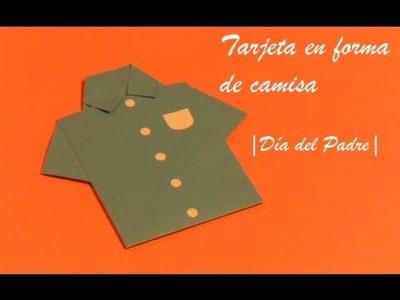 Carta en forma de Camisa