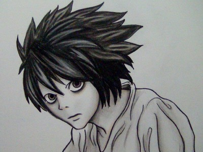 COMO COLOREAR a L de DEATH NOTE (TUTORIAL LARGO, PASO A PASO)