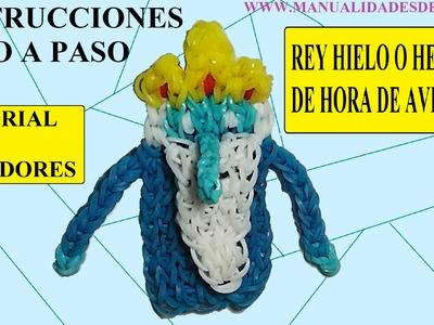 COMO HACER AL REY HIELO O HELADO DE GOMITAS CON DOS TENEDORES, SIN TELAR
