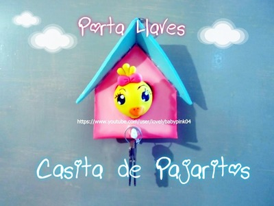 Como hacer figuras de pasta flexible porcelana fria Bird House cold porcelain