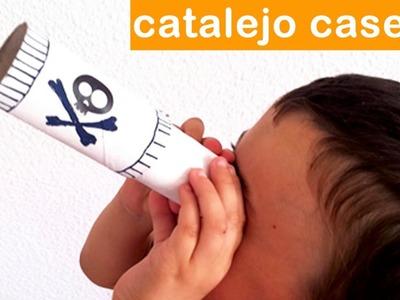 CÓMO HACER UN CATALEJO DE CARTÓN