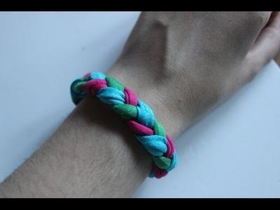 Cómo hacer una pulsera de trapillo | facilisimo.com
