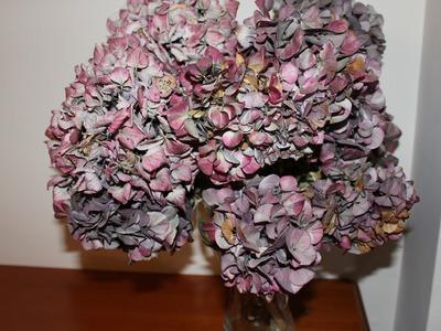 DIY: Centro de flores secas