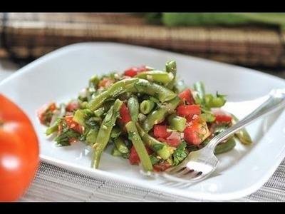 Ensalada de ejotes - Recetas de ensaladas
