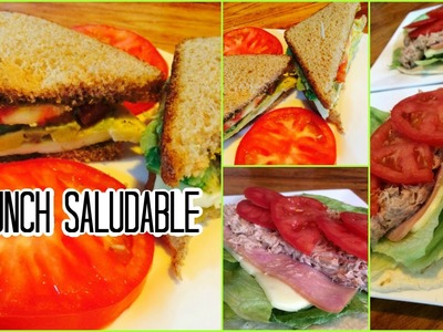 ¡IDEAS DE LUNCH SALUDABLE Y DELICIOSO! (Trabajo - Colegio - Universidad)