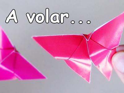 Mariposa sencilla y PERFECTA de Papel - Origami